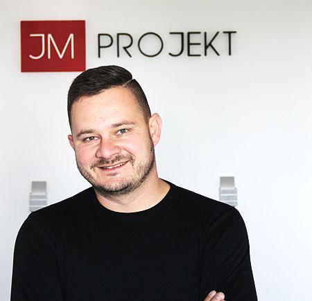 Właściciel projektant mgr inż. Jakub Mańdzij