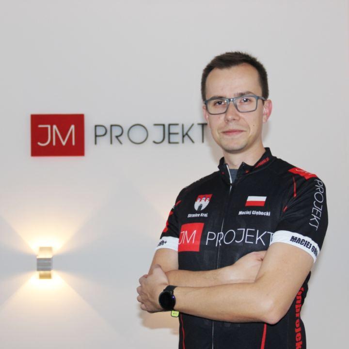 zawodnik Maciej Głębocki